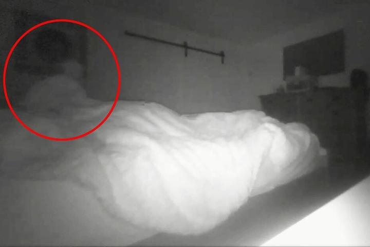 Sieht man hier einen Geist?