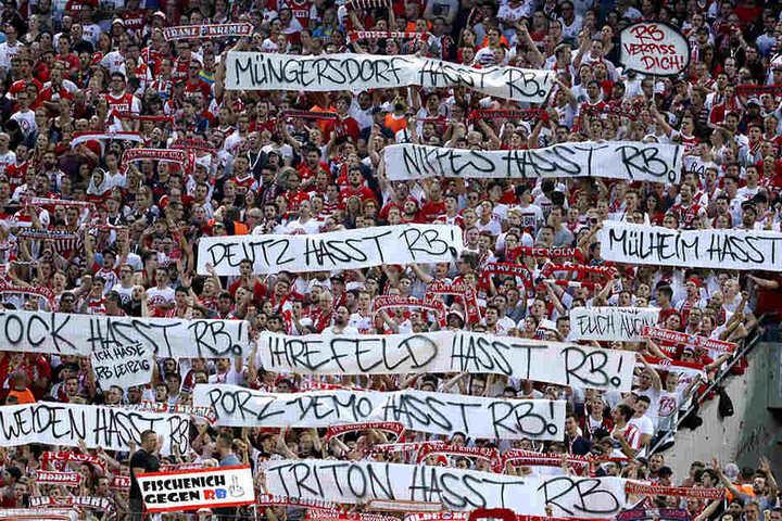 Auch in der Bundesliga schlägt RB der geballte Hass entgegen.