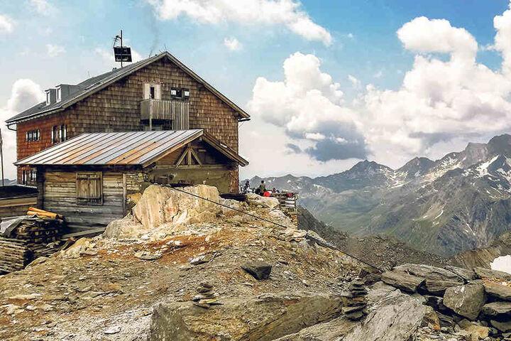 Seit 120 Jahren steht die Zwickauer Hütte auf rund 3000 Metern Höhe in den Ötztaler Alpen.
