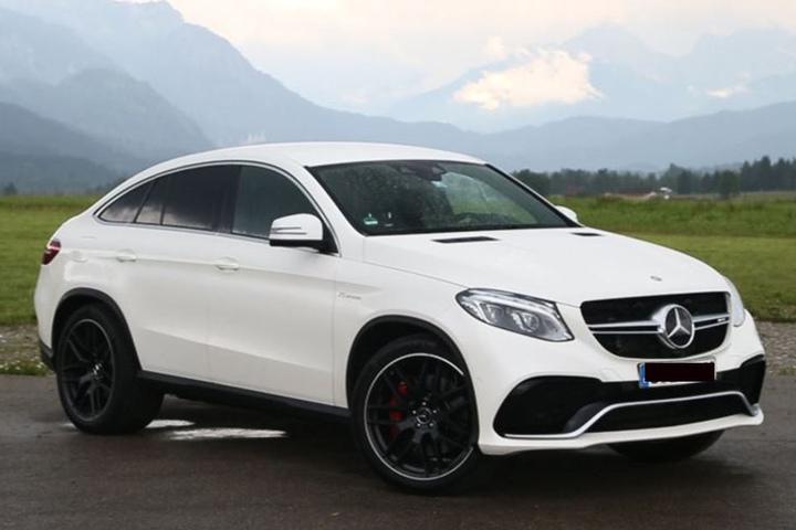 """Zum """"Diebesgut"""" gehörte auch ein solcher Mercedes GLE 63s AMG."""