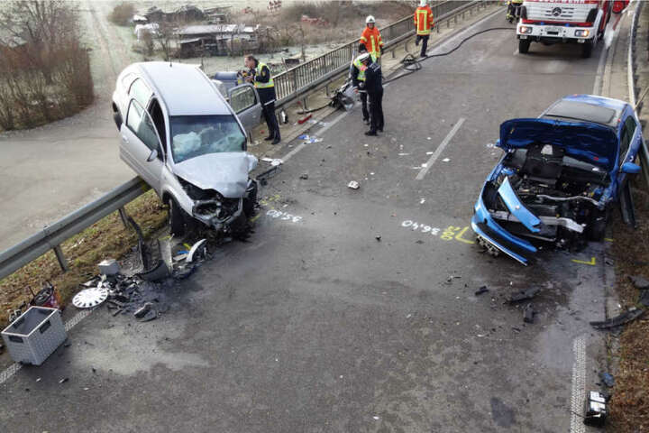 Die 50-jährige Frau verstarb noch an der Unfallstelle.
