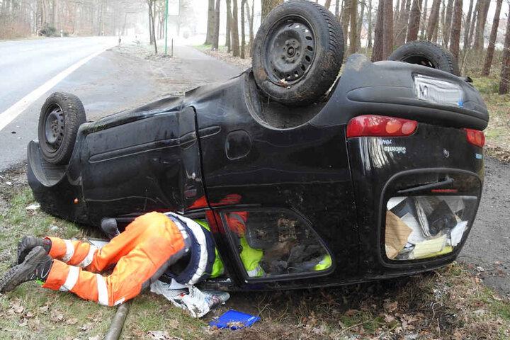 Der 60-Jährige blieb unverletzt.