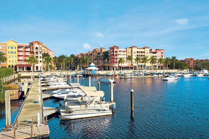 Das Küstenstädtchen Naples gilt in Florida als Ort der Millionäre.