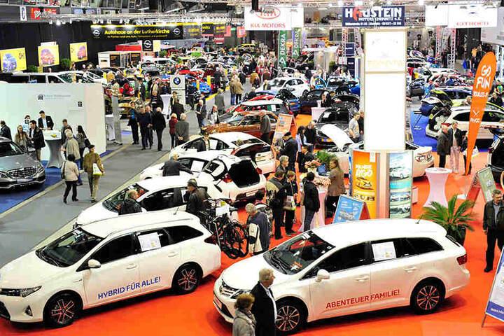 Im vergangenen Jahr besuchten 15 500 Menschen die einzige Automesse Sachsens