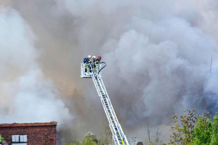 Seit fast einer Woche sind die Feuerwehrkräfte im Einsatz.