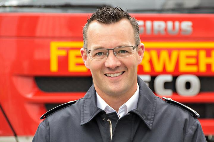 Matthias Mausbach, Leiter der Feuerwehr der Stadt Mettmann.