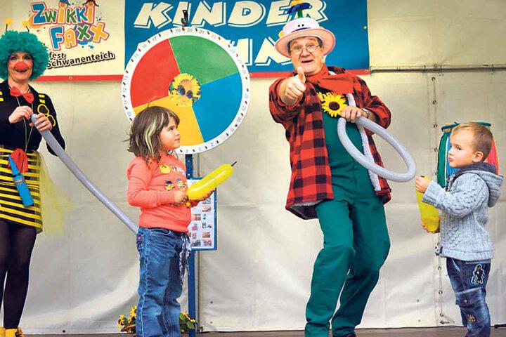 Clowns begeisterten im letzten  Jahr tausende Kinder und deren Eltern.