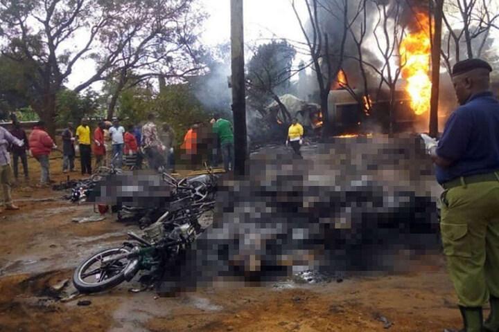 Tanklaster explodiert: Mehr als 60 Tote bei Explosion von Tanklaster in Tansania