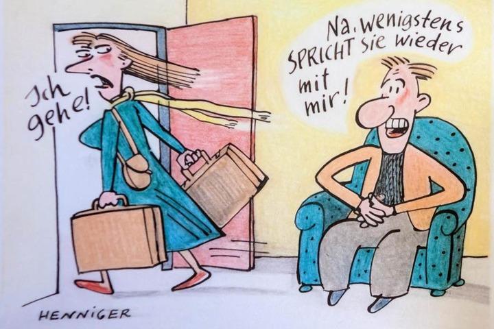 Wegen Karikaturen wie diesen erhält Barbara Henniger den e.o.plauen-Preis. Sie setzte sich gegen fünf Mitbewerber durch.