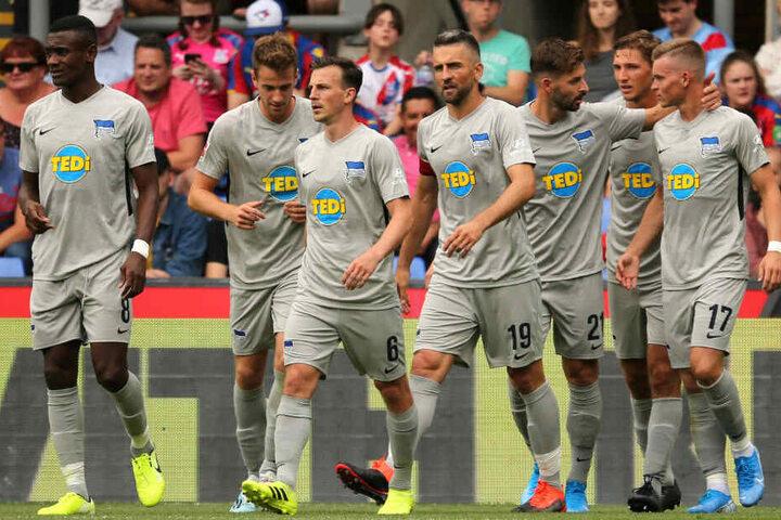 Hertha überzeugte bei der Generalprobe bei Crystal Palace.