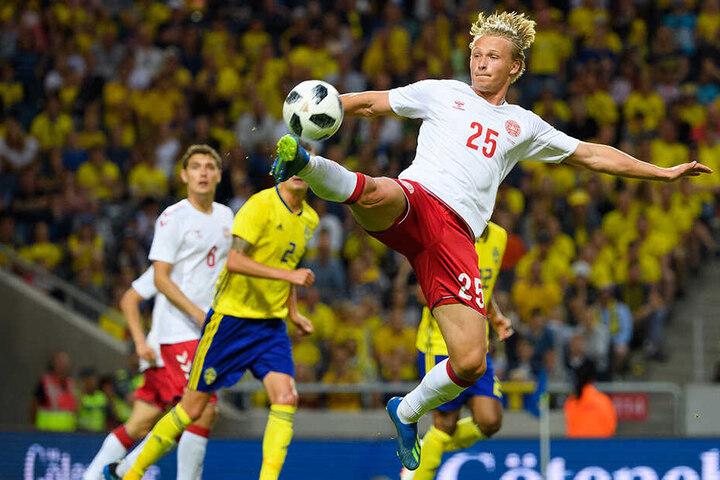 Kasper Dolberg schoss 45 Treffer in 119 Spielen für die Profis von Ajax Amsterdam.