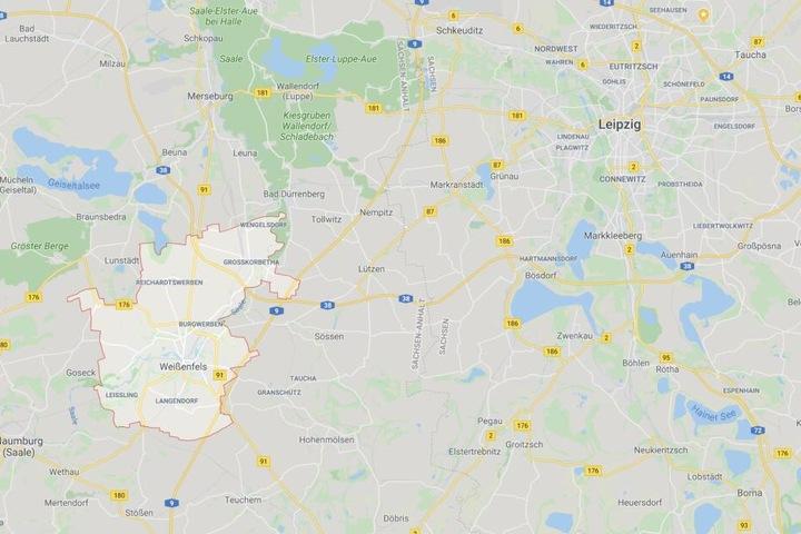 Der Vorfall ereignete sich in Weißenfels bei Leipzig.