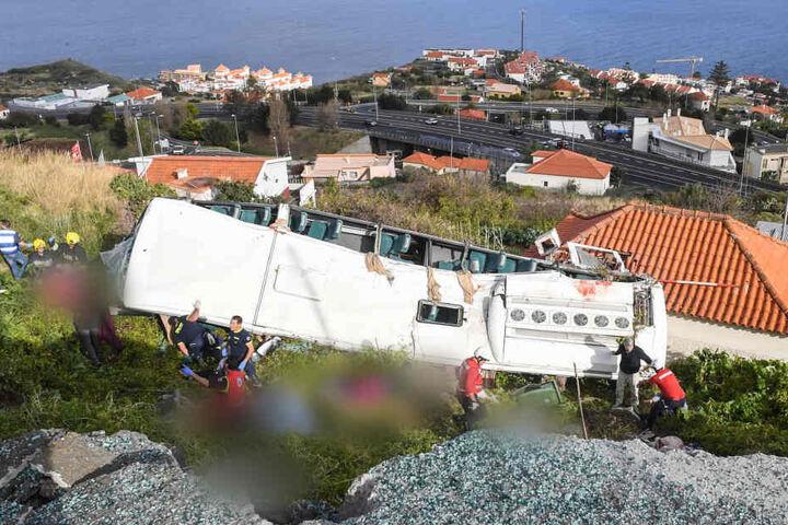 Im Unglücks-Bus starben 29 Menschen.