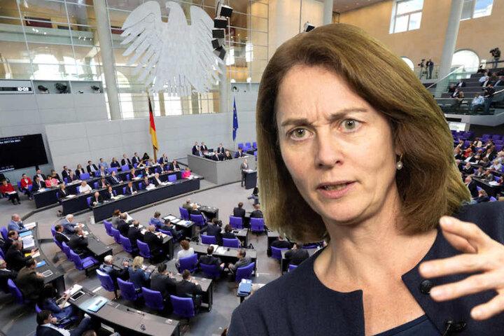 Die Bundesjustizministerin fordert eine Reform des deutschen Wahlrechts, um den Frauenanteil zu erhöhen. (Bildmontage)