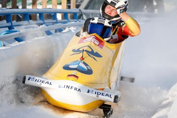 Francesco Friedrich und sein Anschieber Thorsten Margis gewinnen auch in Calgary.