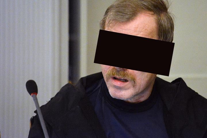 Helmut S. ist wegen Mordes an der 18-jährigen Heike Wunderlich angeklagt.