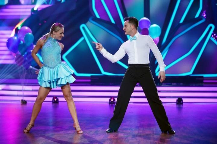 """Für Comedian Özcan Cosar und Marta Arndt war es der letzte Tanz bei """"Let' Dance""""."""