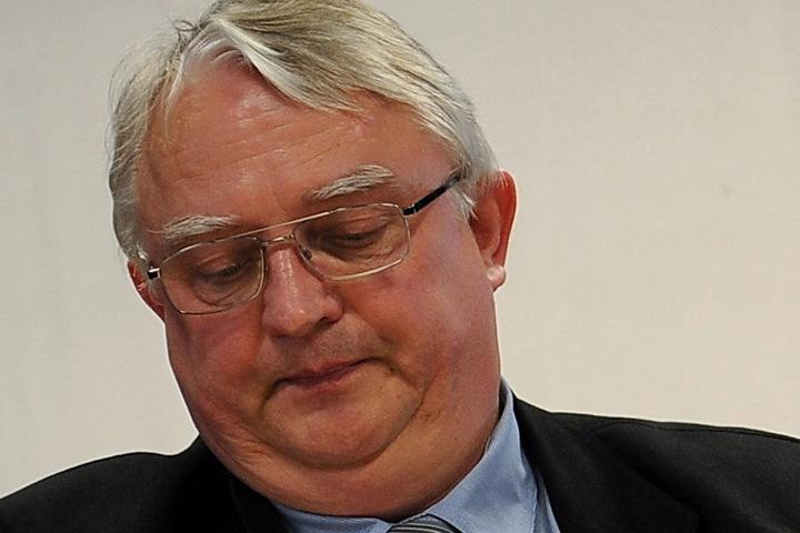 Bürgermeister Volker Zocher (63, parteilos).