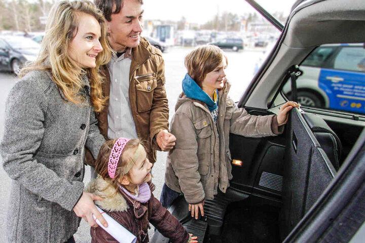 Knapp 100 Neufahrzeuge gibt es bei den Autotagen zu sehen.