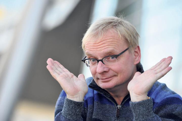 """""""Hat sich mit seinem Engagement um Dresden verdient gemacht"""": Uwe Steimle (56) soll mit der zweithöchsten Dresden-Auszeichnung geehrt werden."""