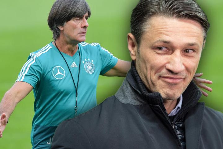 Bundestrainer Joachim Löw hat sich positiv über Niko Kovac geäußert.