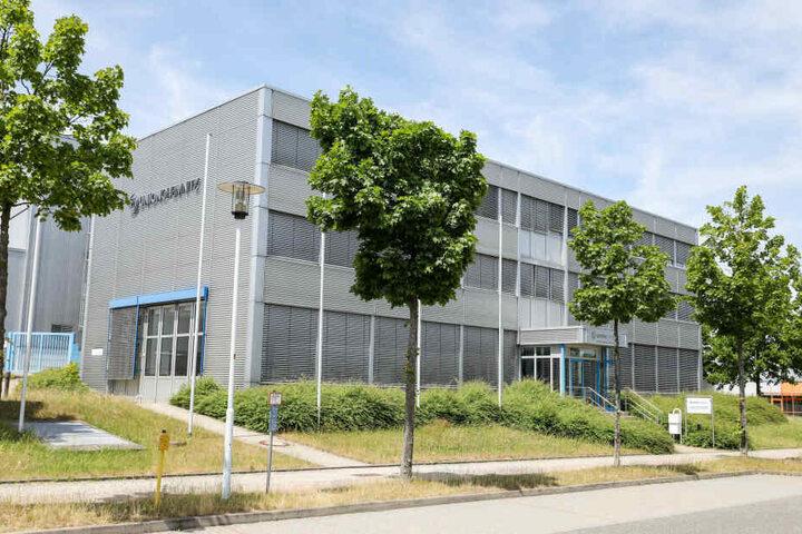 Das Gebäude des Chemnitzer Werkzeugmaschinenbauers Union.
