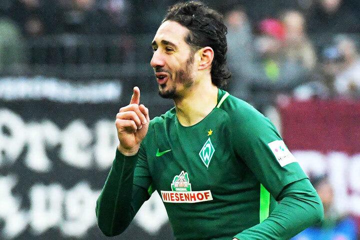 Ishak Belfodil, aktuell von Stand Lüttich an Werder Bremen ausgeliehen, könnte in der Offensive viele Positionen bekleiden.