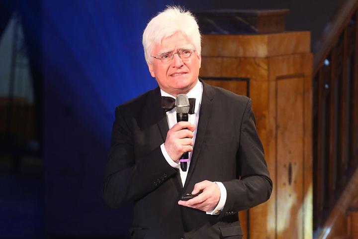 Winfried Stöcker (71) bei der ersten Preisverleihung im Jahr 2016. Im Vorjahr wurde der Award nicht ausgerichtet.