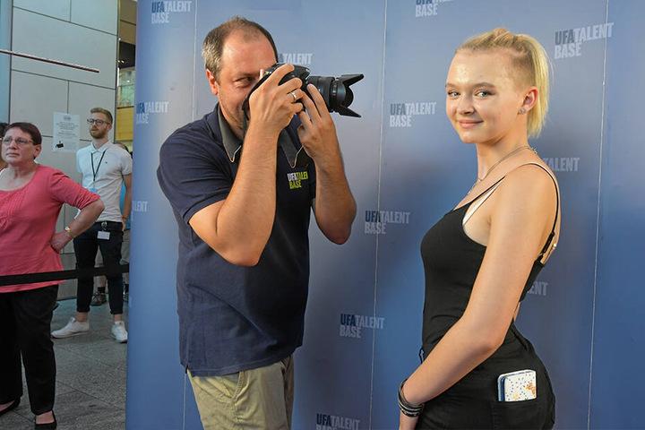 Emily Kästner (14) möchte Sängerin werden.