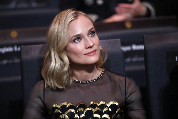 Diane Kruger machte Eva ebenfalls Komplimente zu ihrem Outfit.
