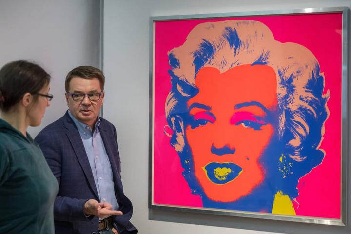Die Kunst von Andy Warhol gibt es in Apolda zu sehen.