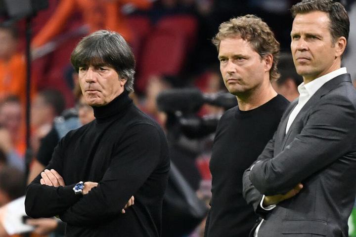 Löw, Sorg und Bierhoff. Sie alle wissen, dass die Personaldecke beim DFB schon einmal etwas dicker war.