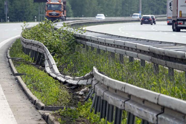 Bei dem Unfall entstand hoher Sachschaden.