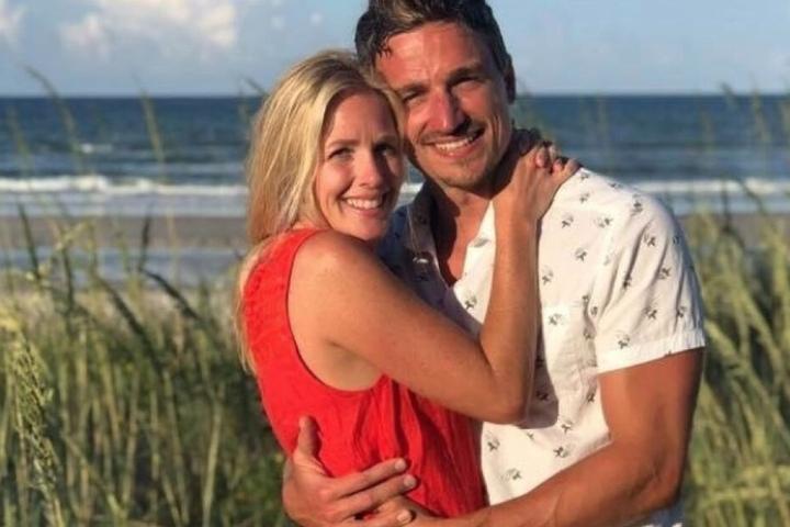 Ein Bild von Lauren und Matthew aus glücklichen Tagen.