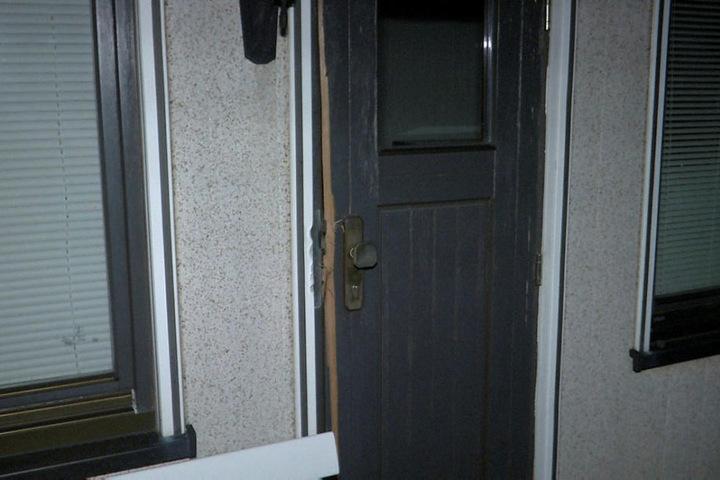 Auch in andere Parzellen wurde eingebrochen. Es wird vermutet, dass der Einbrecher Spuren verdecken wollte.