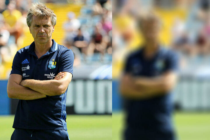 CFC-Trainer Horst Steffen guckte erst etwas skeptisch, war am Ende aber doch ganz zufrieden.