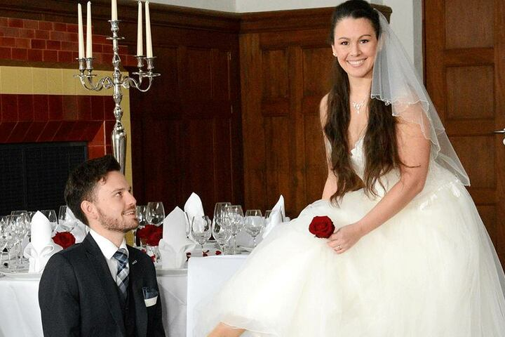 Ist das nicht eine schöne Braut?!