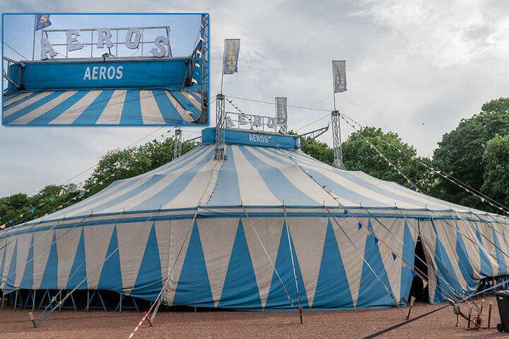 Der Zirkus Aeros gastiert vom 20. bis 24.Juni in Glauchau und vom 26. bis 30.Juni in Zwickau.