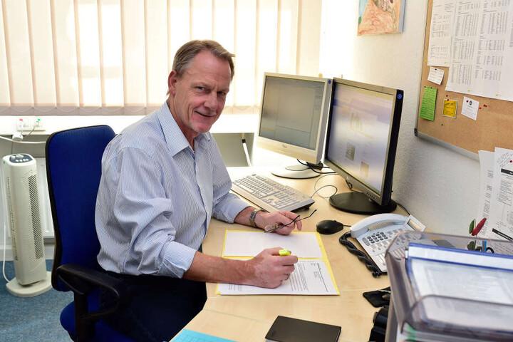 Lutz Steinert (59), Sprecher der Bildungsagentur.