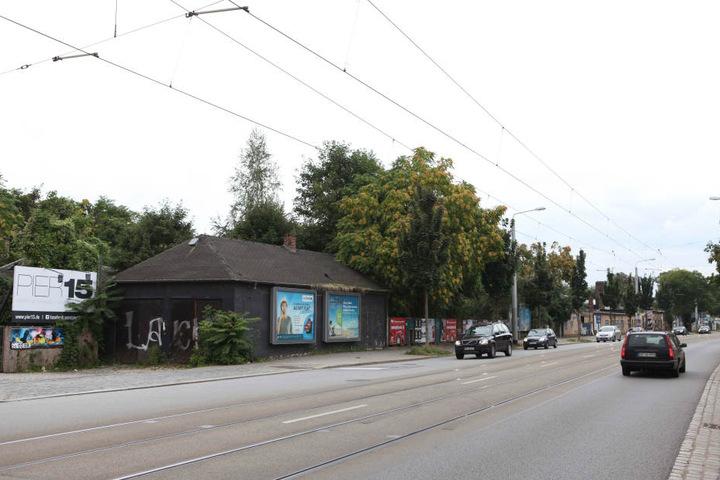 Die Tankstelle könnte an dieser Stelle der Leipziger Straße, etwa in Höhe des Puro Beach gebaut werden.