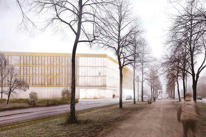 Dieses Fraunhofer-Institut soll an der Münchner Straße/Bayreuther Straße gebaut werden.