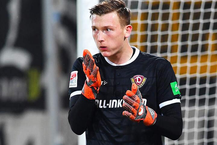 Dynamo-Torhüter Markus Schubert ist momentan mit der deutschen U20-Auswahl unterwegs.