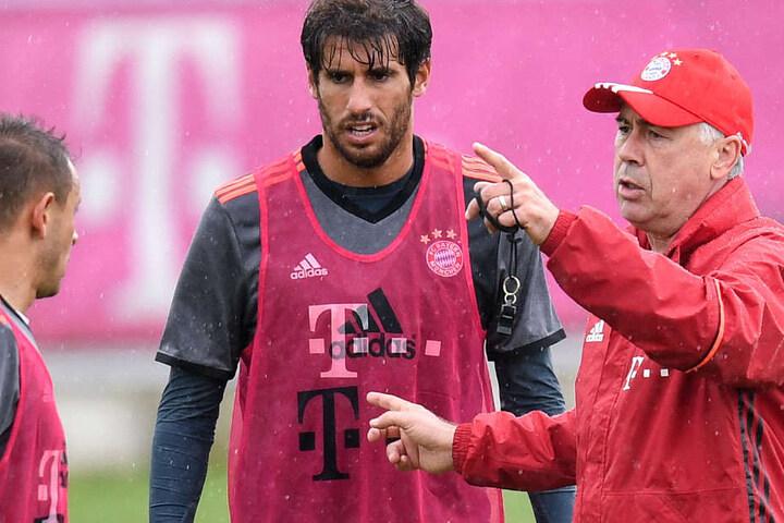 Javi Martínez wurde beim FC Bayern München unter anderem von Carlo Ancelotti trainiert.