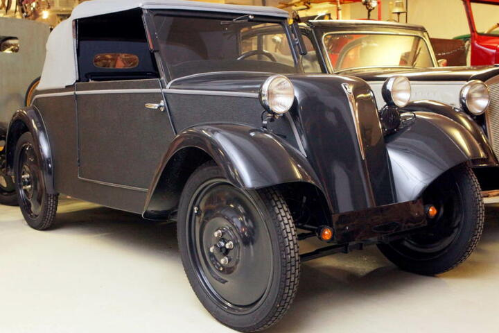 So sahen Autos aus: Dieser Framo Piccolo steht im Sächsisches Fahrzeugmuseum in Chemnitz.