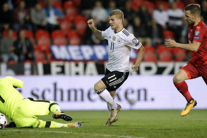 Wurde trotz seines Tores mal wieder zur Zielscheibe von peinlichen Pöblern: Timo Werner.