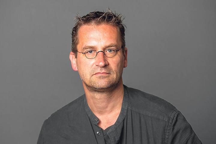 Kämpft gegen die aktuellen Ausbau-Pläne der Königsbrücker Straße: Stadtrat Martin Schulte-Wissermann (48, Piraten).