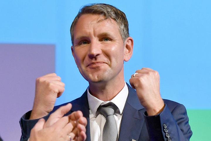 Als großer Gewinner galt bei der Bundestagswahl in Thüringen die AfD unter Björn Höcke.