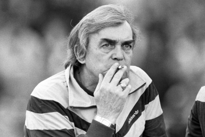 Trainer-Legende Ernst Happel verstarb 14. November 1992.