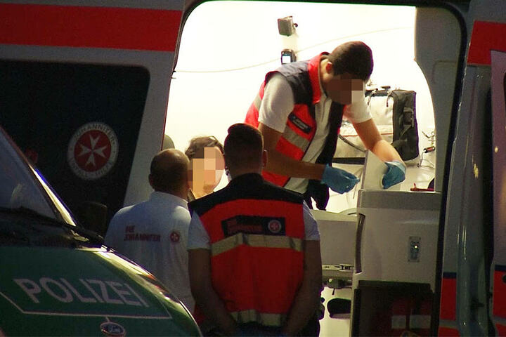 Vier Menschen mussten medizinisch behandelt werden.