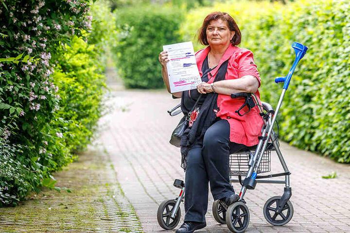 """Das Schwerbehinderten-Merkzeichen """"G"""" würde ihr Leben erleichtern."""